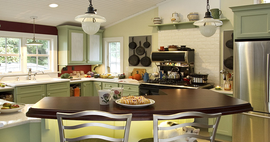 Turn of the Century Charmer Kitchen Design